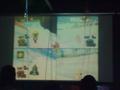 [音楽]メインフロアなのに巨大画面でマリオカートWiiプレイ中