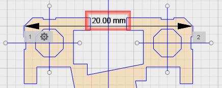 寸法を測定し、修正できていることを確認します。