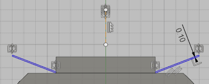 電極のスケッチを作成します