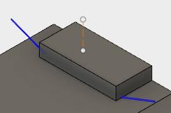 端子の出ている部位の長さが足りないので修正します。