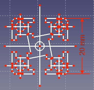データーで、端数の無いはずの寸法に、端数が付いていることがありますので、注意します。<