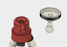 このモデルには、結合が設定されていないので、それぞれの部品を自由に動かすことができます。