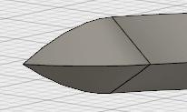 修正ドロップダウンの結合を使用して、コイルの末端の処理は完成です。