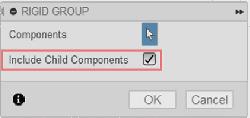 「子コンポーネントを含める」オプションは、完全なコンポーネントのグループを簡単に維持することができます。