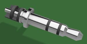 3.5mmφステレオ・ピン・プラグ(樹脂封入型)