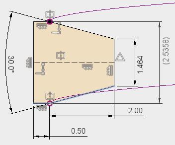 下の2本の線を消して、作成したコイルの端点を利用して書き直します。