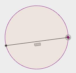 コイルを非表示にし、水平な線を描きます。