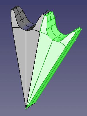 位置を変更してクローンした形状が配置されます。