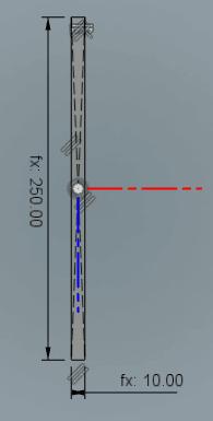 中心を選択し、ドラッグすると長方形が描かれます。