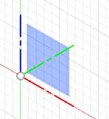 XZ平面は、正面図の向きに相当します。
