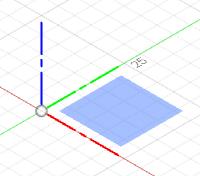 XY平面を選択