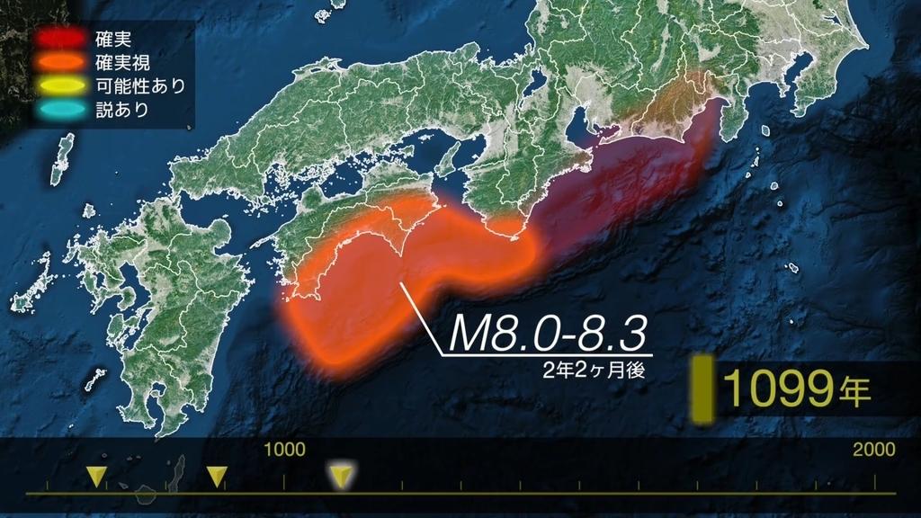 南海トラフ巨大地震 康和南海地震