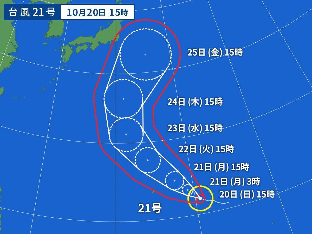 Yahoo! JAPAN 台風情報の正しい見方