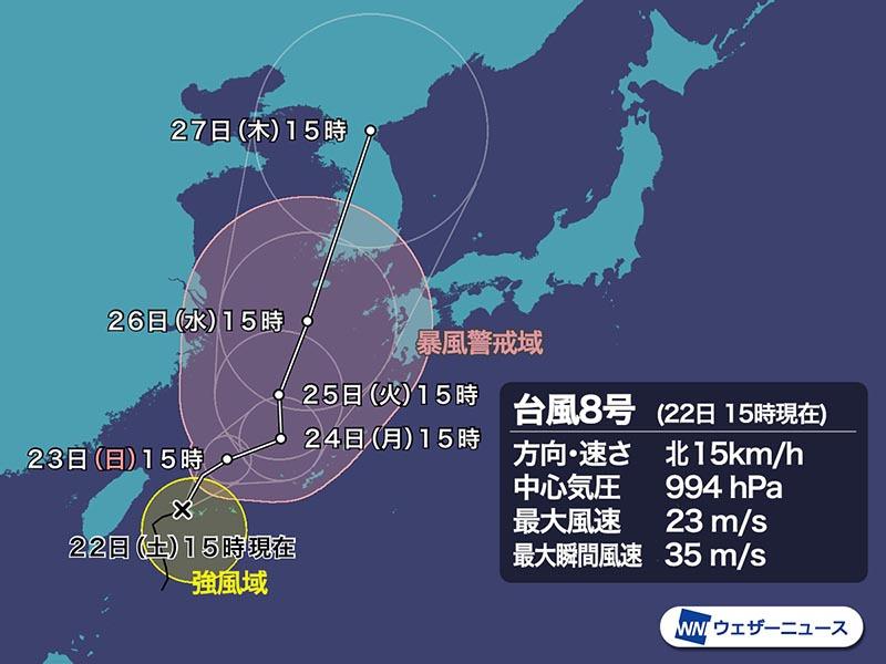 ウェザーニュース 台風情報の正しい見方