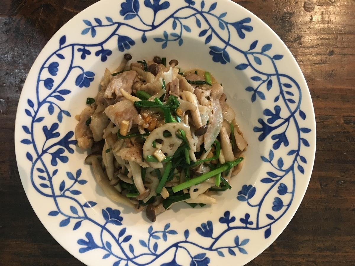 豚肉を使ってお野菜も一緒にスタミナ満足レシピ