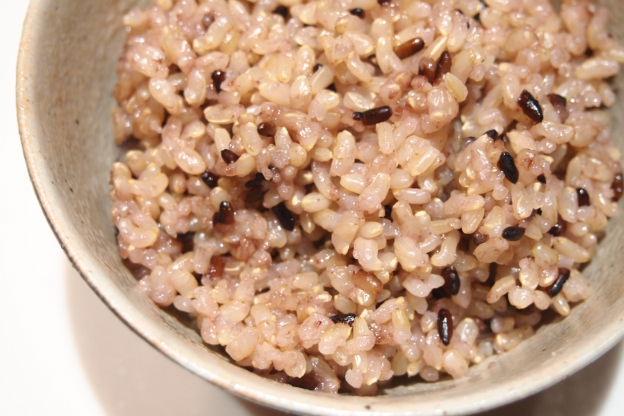 黒米ともちきびの玄米ご飯