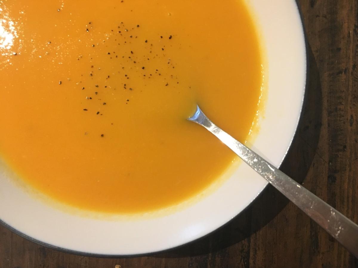 白ワインで大人なスープ フランス料理 ポタージュ・クレシー 人参スープ