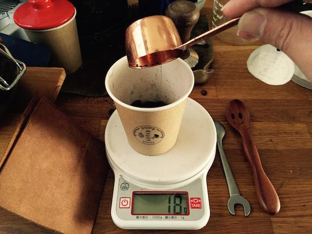 ドリップ コツ 豆の量について