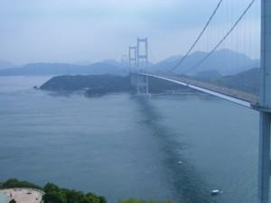糸山公園よりしまなみ海道を臨む
