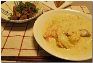 2009-10-20夕食
