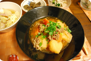 2010-10-20夕食