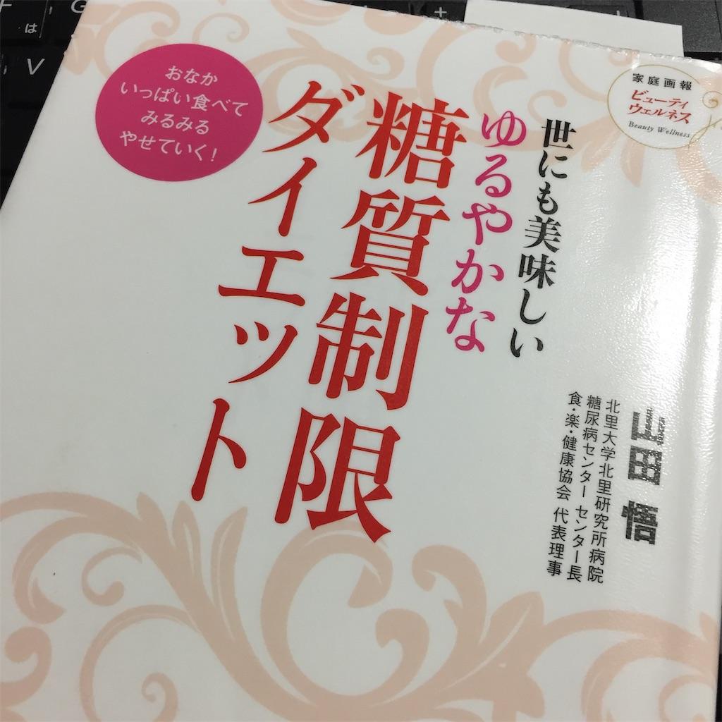 糖質制限ダイエットの本を借りてみました!