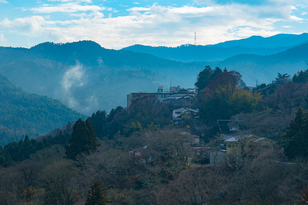 冬の吉野山
