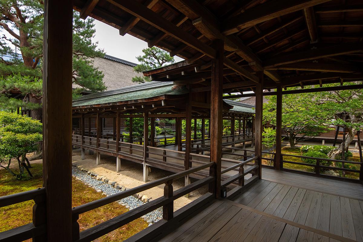 京都嵯峨野大覚寺(旧嵯峨御所)