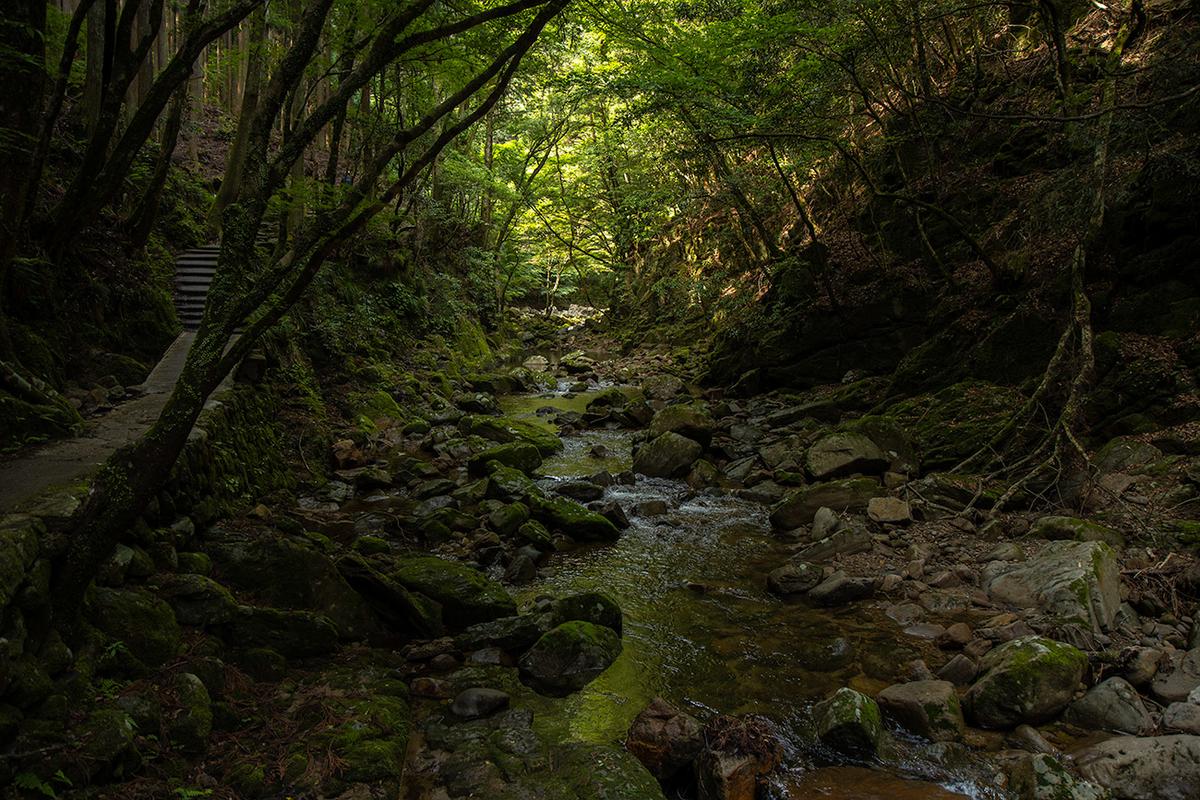 三重県赤目四十八滝