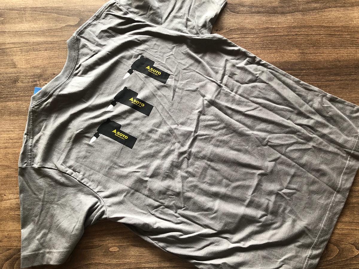 SOTOのTシャツ