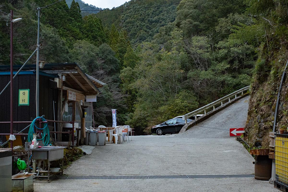 奈良県十津川村上湯温泉