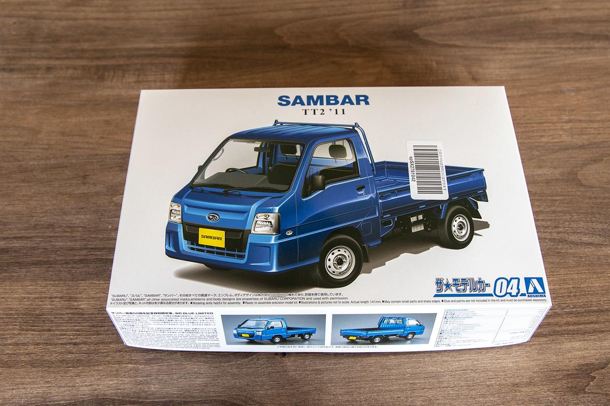 プラモデル青島文化教材社のスバル TT2 サンバートラック