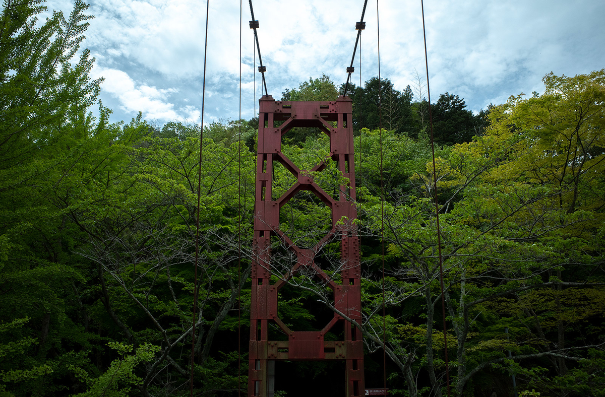 とっくり湖吊り橋
