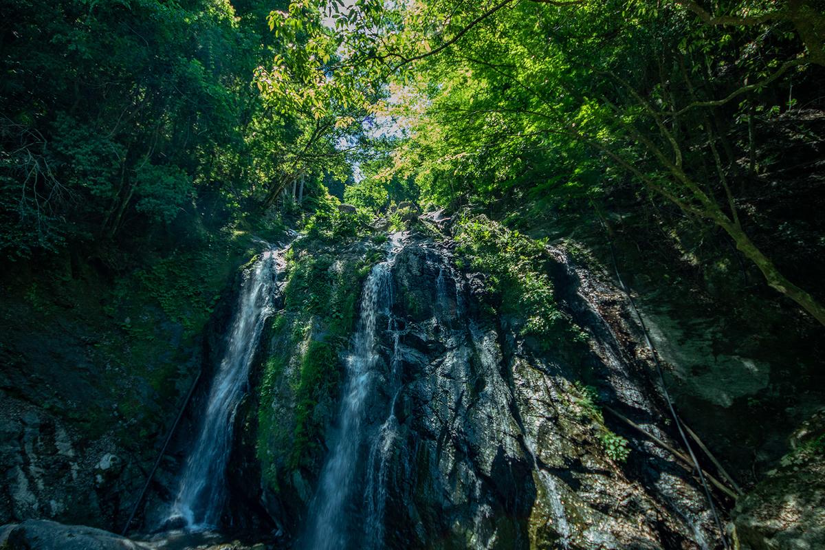 奈良県五條市西吉野瀧大権現の滝