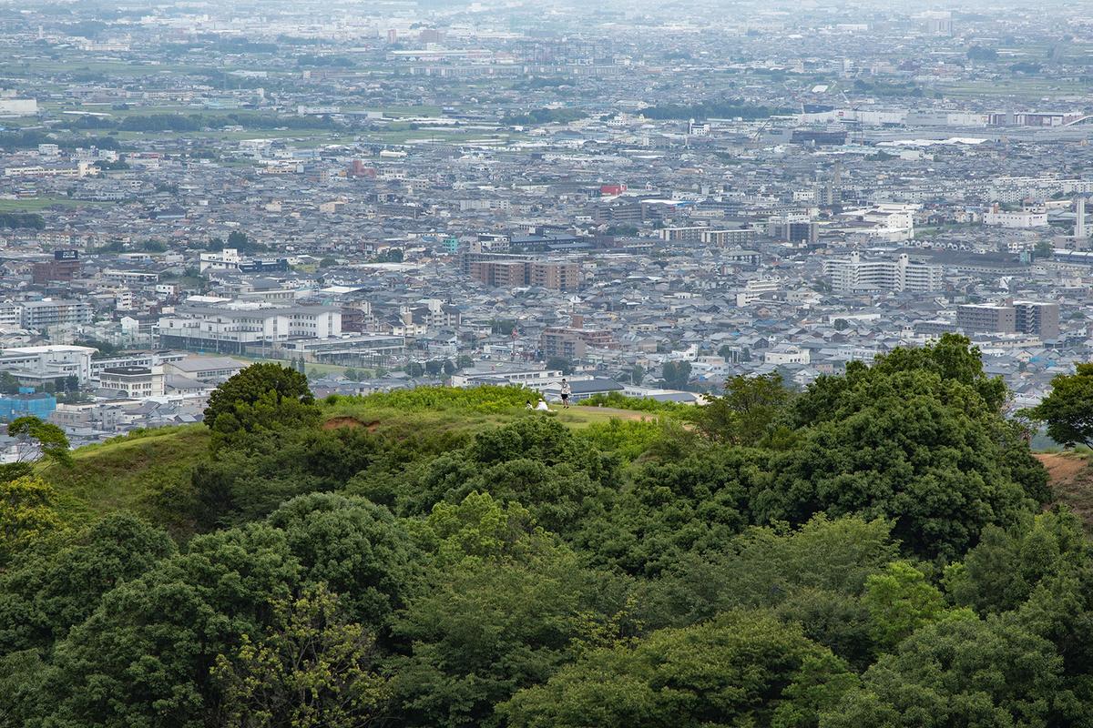 奈良公園若草山
