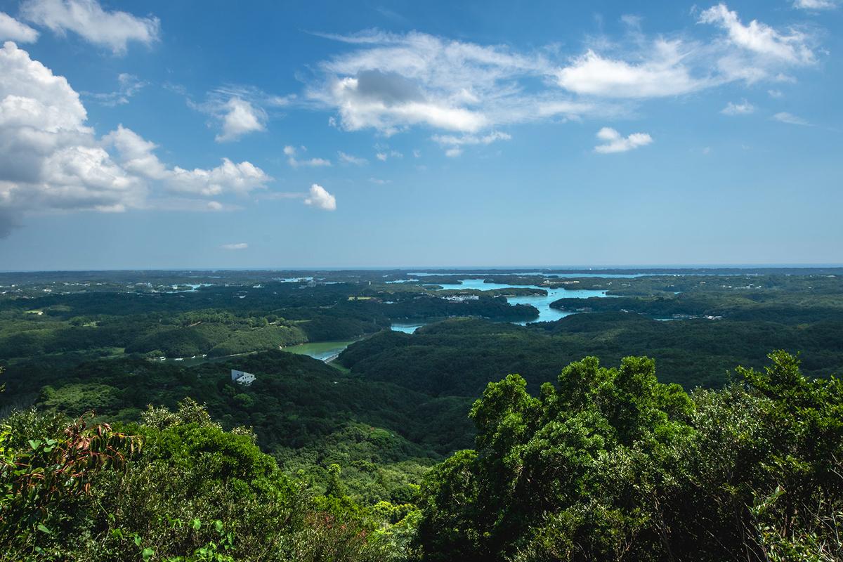 伊勢志摩国立公園のあご湾を一望。横山展望台へ。