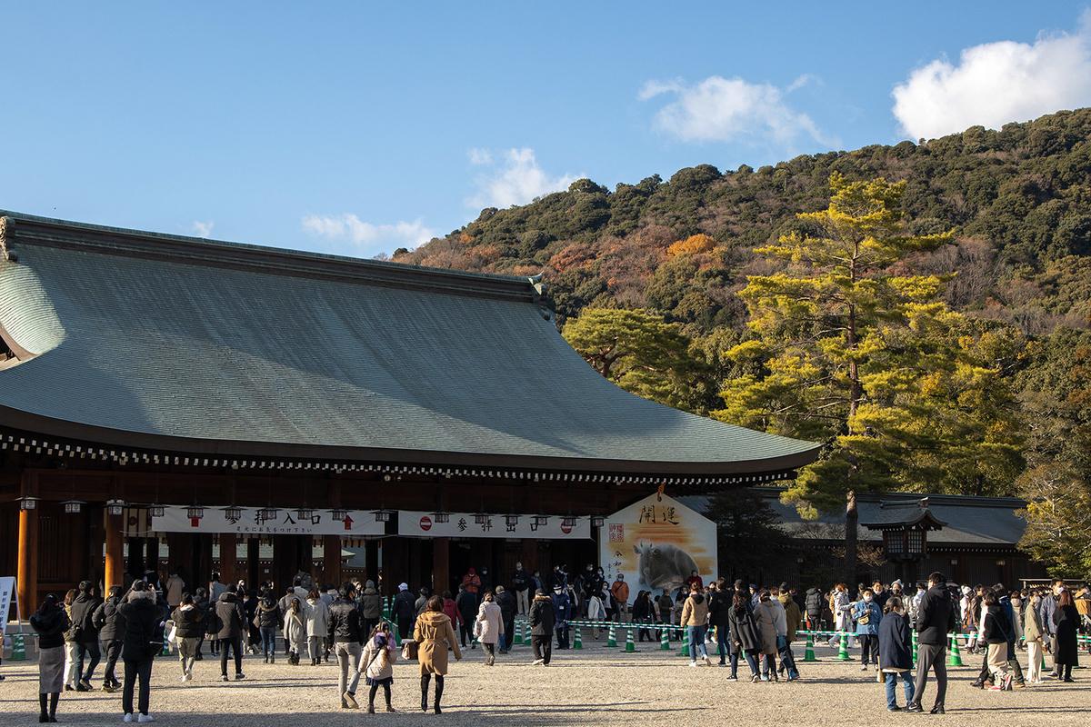 橿原神宮初詣