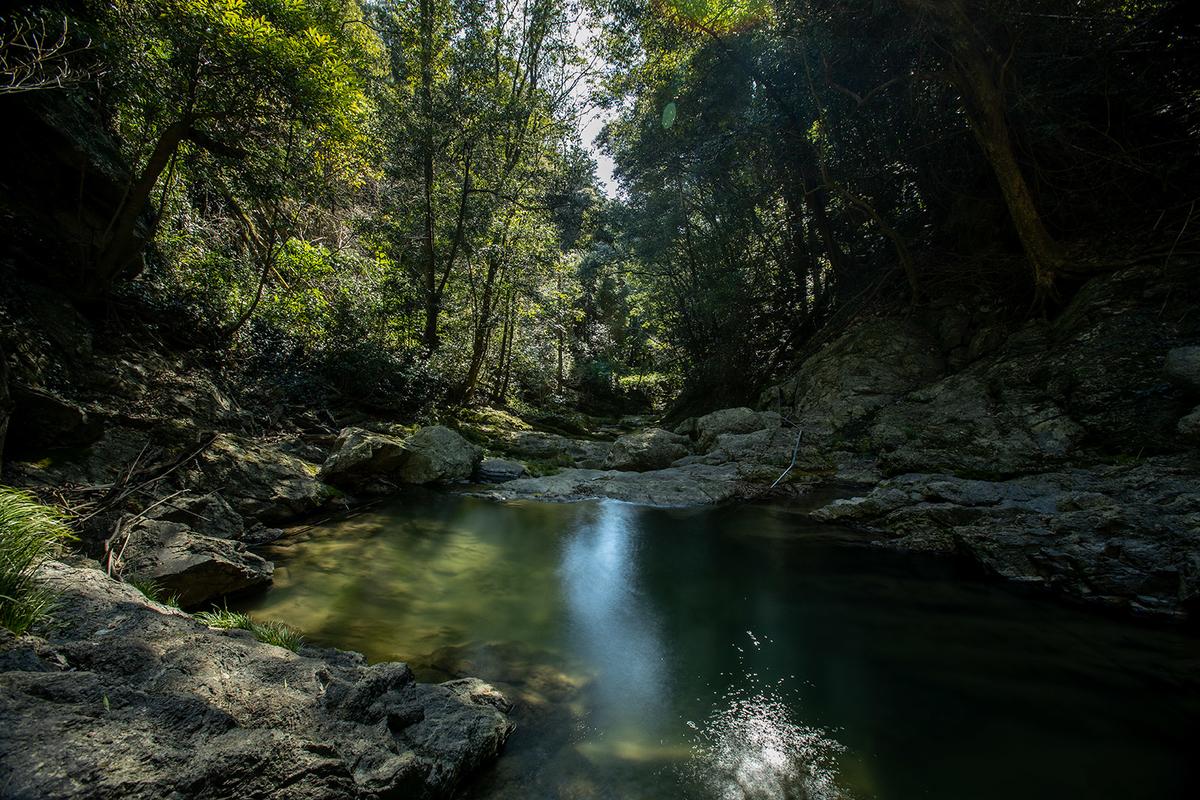 和歌山県虚空蔵の滝(黒蔵の滝)