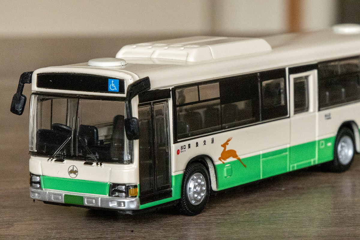 数量限定!奈良交通大型路線バスオリジナルミニカー