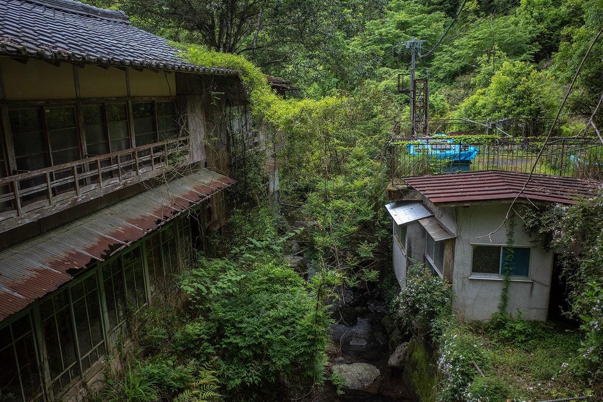 三重県の秘境のボロ温泉、有久寺温泉。