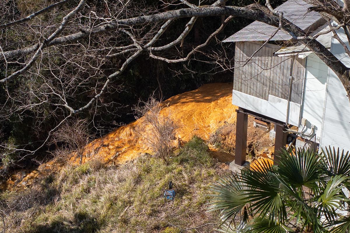 ツーリング客に人気の秘境温泉。奈良県吉野の入之波温泉 山鳩湯
