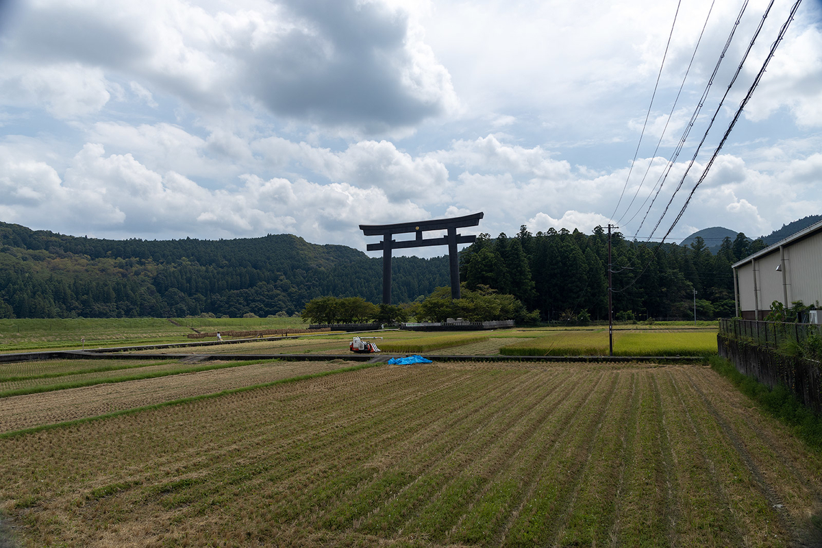 熊野本宮の鳥居