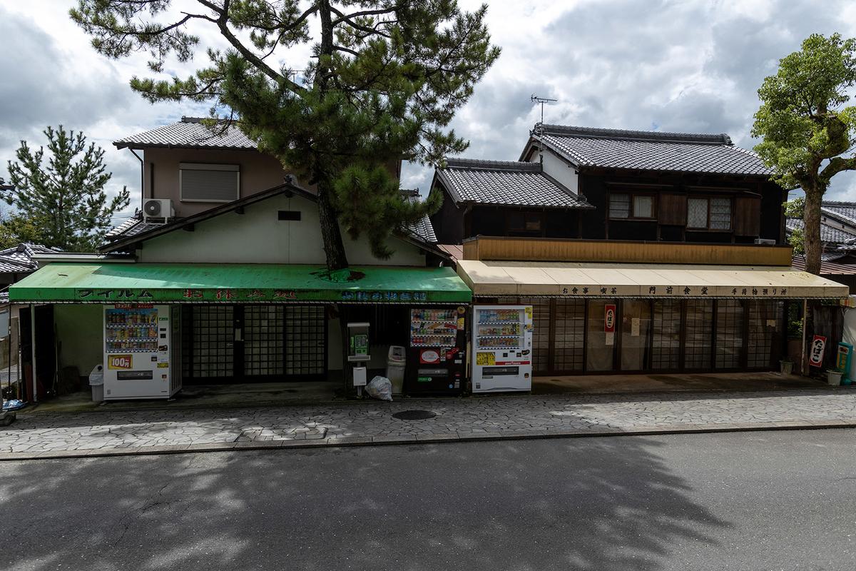 奈良県の絶景スポット。世界遺産の唐招提寺