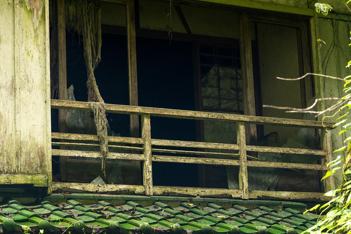 倉谷温泉の廃墟。