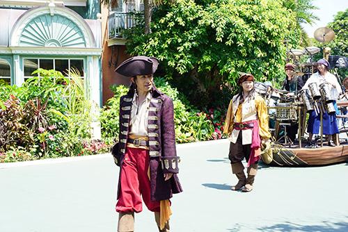 東京ディズニーランドのアトモス海賊