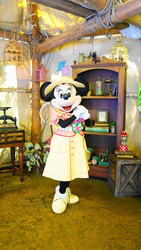 ディズニーシーのミニーマウス