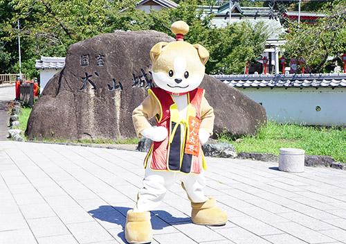 犬山の公式キャラクターわん丸君