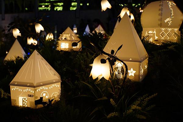 名古屋星ヶ丘テラスの冬のイルミネーション