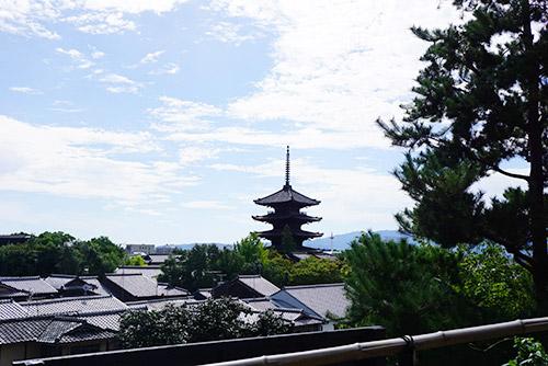 京都東山の八坂の塔