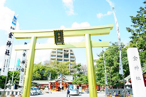 岐阜市の金神社(こがねじんじゃ)